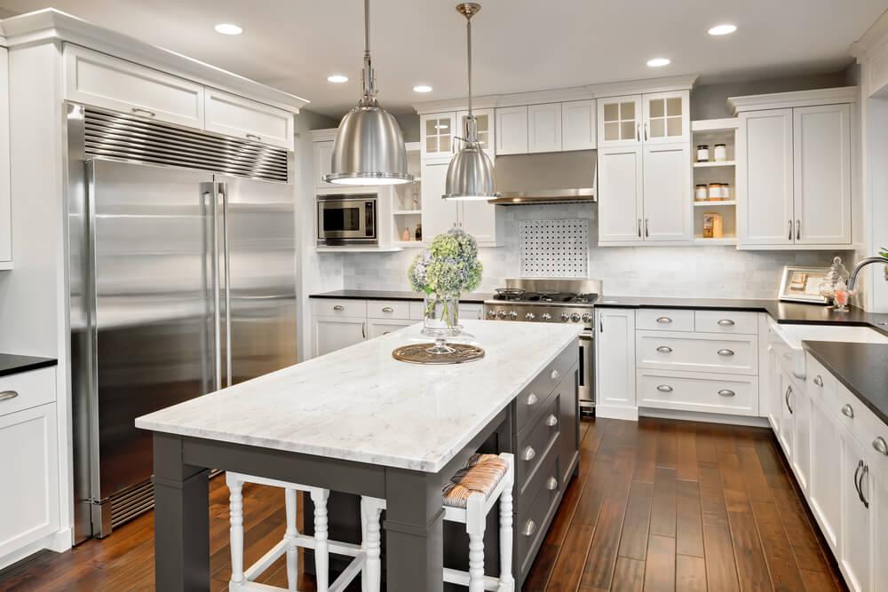 Creating An Efficient Kitchen Layout Cabinet Depot